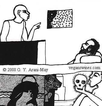 something like a cartoon by Palang
