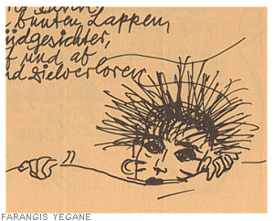 a leporello by Farangis, image of